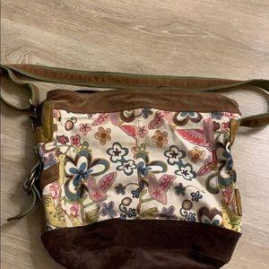 Lucky Brand Noubuc Canvas Vintage Style Bag